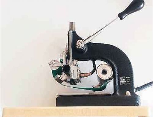 Kingsley Hot Stamping Machine of vergelijkbaar