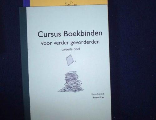 Cursusboekjes boekbinden