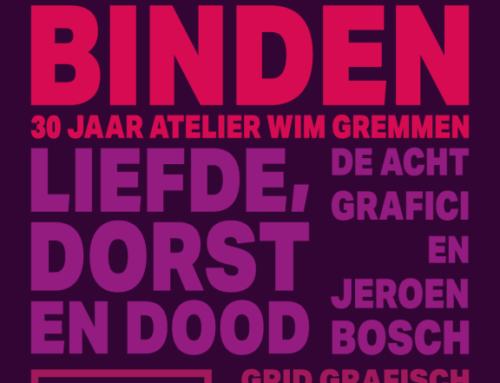 BOEKEN BINDEN 30 jaar atelier Wim Gremmen