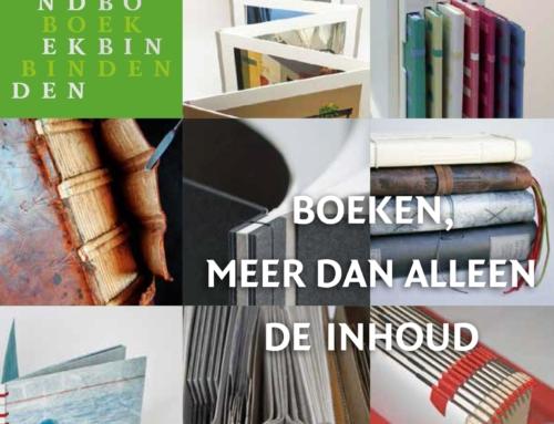 Nieuwe folder Stichting Handboekbinden