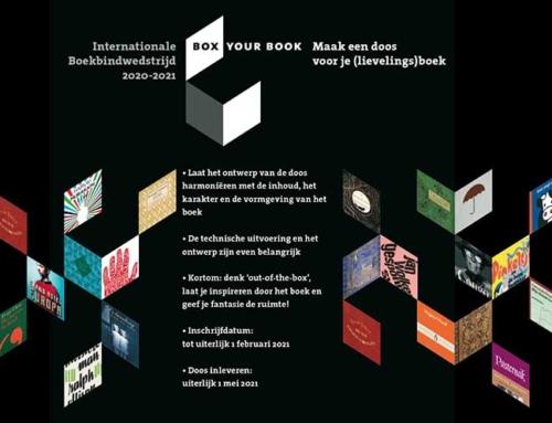 Box your book, de wedstrijd. Inschrijfdatum met een maand verlengd!